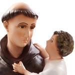 statua Sant' Antonio cm 50 - volto