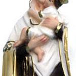 statua Madonna del Carmine cm 25 -mani