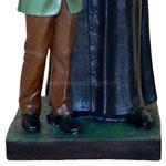 statua San Giovanni Bosco e Domenico Savio cm 118 - base