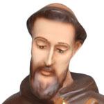 statua San Francesco d' Assisi cm. 28 - volto