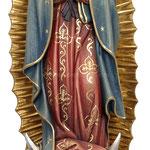 statua Madonna di Guadalupe in legno - busto