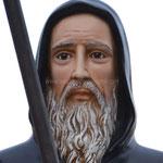 statua San Francesco di Paola cm 130 - volto