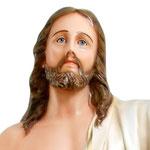 statua Gesù risorto cm 165 -volto