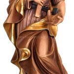 statua San Giuseppe artigiano in legno - busto
