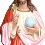statua Cristo Re cm 160 -mani