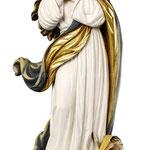 statua Madonna Assunta al Murillo in legno - busto