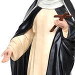 statua Santa Caterina cm 80 - mani
