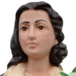 statua Santa Maria Goretti cm 30 - volto