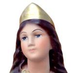 statua Santa Lucia cm 30 - volto