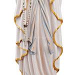 statua Madonna di Lourdes in legno - busto