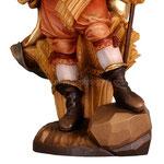 statua Sant' Isidoro in legno - base