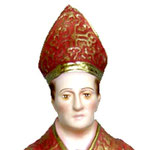 busto San Gennaro cm 15 - volto