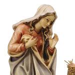 statua Sacra Famiglia con culla semplice - Maria