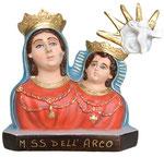 busto Madonna dell'Arco cm 35