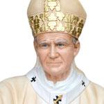 statua San Giovanni Paolo II cm 200 - volto