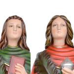 statua Santi Cosma e Damiano cm 60 - volto
