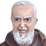 statua San Padre Pio cm 90 -volto