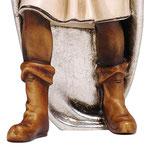 statua Re Magio moro - base