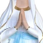 statua Madonna di Lourdes cm 85 - mani