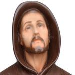 statua San Francesco d' Assisi cm. 60 - volto