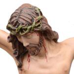 statua corpo di Cristo cm 70 -volto