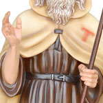 statua Sant' Antonio Abate cm 100 - mani