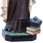 statua Santa Teresa d' Avila cm 100 - base