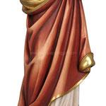 statua Sacro Cuore di Gesù in legno - busto