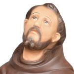 statua San Francesco d' Assisi cm. 55 - volto