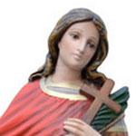 statua San Vito cm 60 -volto