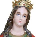 statua Santa Lucia cm 155 - volto