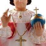 statua Gesù Bambino di Praga cm 45 -mani