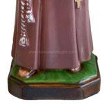 statua San Ciro cm 35 - base
