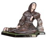 statua San Padre Ludovico da Casoria cm 25