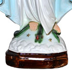 statua Madonna Miracolosa cm 47 - base