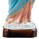 statua Maria Ausiliatrice cm 30 - Base