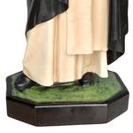 statua San Domenico Guzman cm. 82 - base
