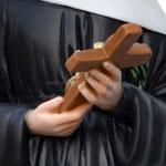 statua Santa Rita cm 60 - mani