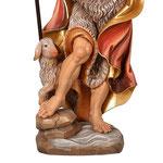 statua San Giovanni Battista in legno - base