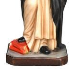 statua San Domenico Guzman cm. 55 - base
