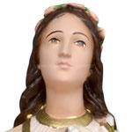 statua Sant' Agnese cm 40 - volto