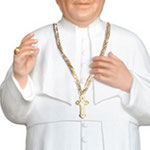 statua San Giovanni XXIII cm 147 - mani