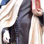 statua Santa Teresa d' Avila cm 100 - mani
