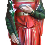 statua Santa Lucia cm 65 - mani