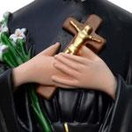 statua San Gerardo cm 53 - mani