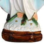 statua Madonna Miracolosa cm 35 - base