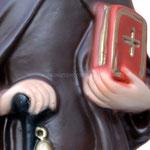 statua Sant' Antonio Abate cm 32 - mani