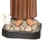 statua San Francesco d' Assisi cm. 130 - base