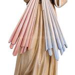 statua Gesù Misericordioso in legno - busto