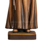 statua Padre Pio in legno - base